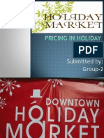 Pricing of Holiday Market