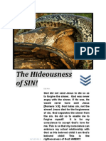 The Hideousness of Sin