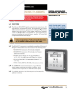 Altronic DD-40NTV-II Installation Instructions (FORM DD-40NTV II)