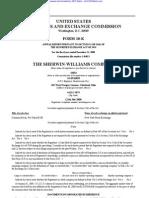 SHERWIN WILLIAMS CO 10-K (Annual Reports) 2009-02-24