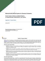 Rubric for Curriculum Analysis