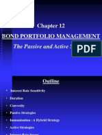 Chapter 12 Bond Portfolio Mgmt