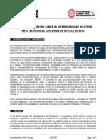 Propuestas de los ciclistas a Cercanías RENFE Sevilla 2009-02-24