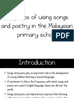 LGA Purposes of Songs and Poetry