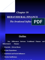 Chapter 10 Behavioural Finance