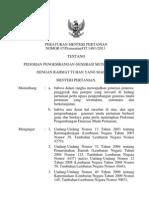 Peraturan Menteri Pertanian No.7 Thn 2013