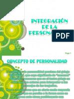 integracion de la personalidad