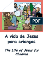 A vida de Jesus para crianças - The Life of Jesus for Children