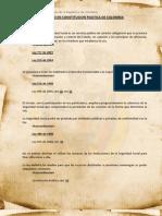 Salud en Constitucion Politica de Colombia