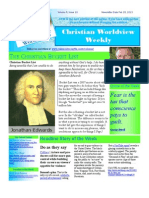 Christian Worldview Weekly