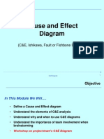 Cause and Effect Diag