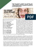 Mi Critica de El Lindo Don Diego