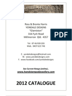 Yondale Designs Catalogue 2012