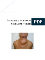 Ingrijirea Bolnavilor Cu Neoplasm Tiroidian