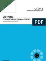 BMI Vietnam Consumer Electronics Report Q3 2012