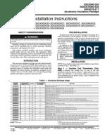 Instrucciones Aislamiento 30gx,Hx-16si