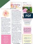 Rose of Light Healing Newsletter March 2013