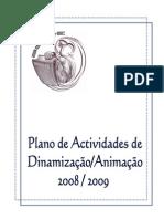 Plano de Actividades 2008-2009