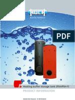 Heating Buffer Storage Tank PSH