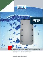 Heating Buffer Storage Tank PSX