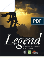 Legend Tabletop Roleplaying Game System