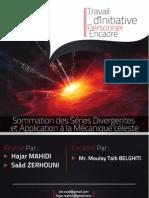 TIPE - Sommation des séries divergentes et application à la mécanique céléste