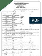 RSU Math 227(Integral Caclulus)