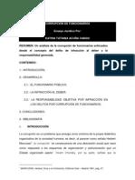 CORRUPCIÓN DE FUNCIONARIOS