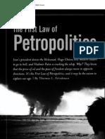 Thomas L. Friedman - Petropolitics