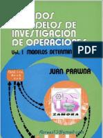 Metodos y Modelos de Investigacion de Operacones