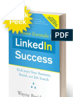 "Chapter from the 2nd edition of ""The Power Formula for LinkedIn Success"