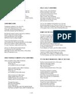 Xmas Lyrics 2