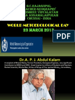 Rajagopal_World Meteorological Day_23 March 2013
