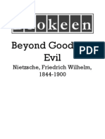 Nietzsche Friedrich Wilhelm 1844 1900 Beyond Good and Evil
