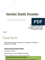Herbal Tooth Powder_Group6