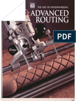 The Art of Woodworking Advanced Routing