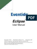 Eventide Eclipse - 4.0.1 - User Manual