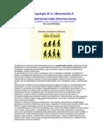 Antropología de la Alimentación I