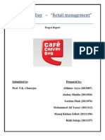 Café Coffee Day-final report