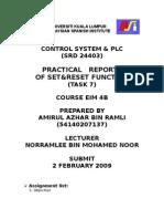 PLCreport TASK7
