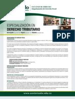 23868 Vol Esp Derecho Tributario Derecho Fiscal