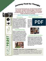March Eastfeast Newsletter