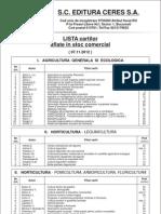 Catalog Carti Editura Ceres
