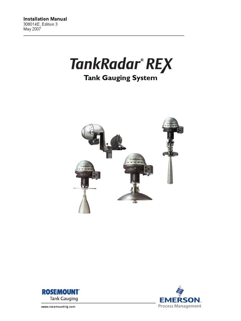 tankradar-rex-installation-manual.pdf   Electrical Engineering   Electronics