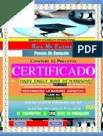(Emilce) Certificado de Formacion (2do Nivel)