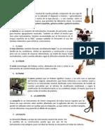 20 Instrumentos Musicales