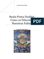 Nyala Pema Duddul Cómo se Dilucidan Nuestras Faltas