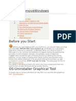 How to Remove Windows From Ubuntu 12.04