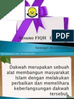 Resume FIQiH Dakwah Slide