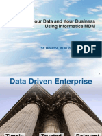 Master Your Data and Master Your Business Using Informatica MDM